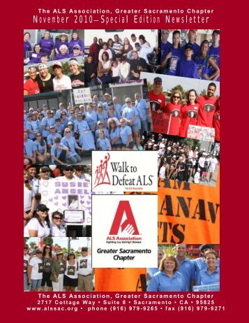 November 2010—Special Edition Newsletter - The ALS Association ...