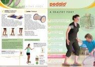A HeAltHy foot A heAlthy Foot A heAlthy foot - Pedalo