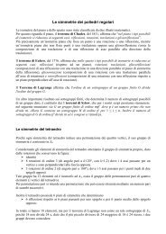 Le simmetrie dei poliedri regolari - Liceo Norberto Rosa