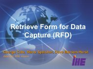 Retrieve Form for Data Capture (RFD) - IHE