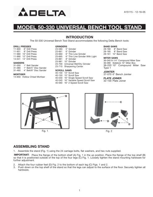 Surprising Model 50 330 Universal Bench Tool Stand Dailytribune Chair Design For Home Dailytribuneorg