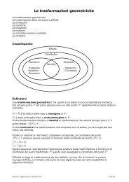 Tutorial: le trasformazioni geometriche - Math.it