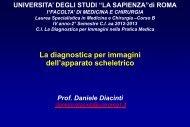 osteoporosi - Sapienza - Università di Roma