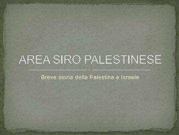 Area siro-palestinese - Isisghilarza.It