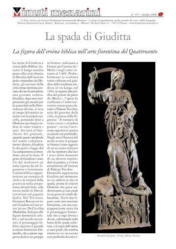 Direttore Responsabile Lucia Aleotti - Redazione, corrispondenza