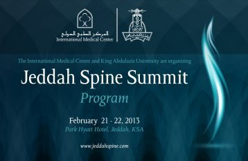 Click here to download PDF Version - Jeddah Spine Summit