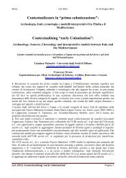 G. Melandri, F. Sirano - Academia Belgica