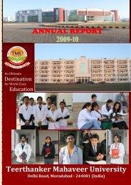 Annual report - Tmu.ac.in