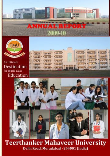 Annual report - Tmu.ac.in