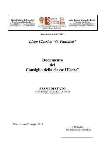 3C - Liceo magistrale
