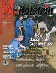 New Classification Creates Buzz - Holstein Canada