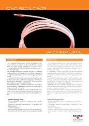 CAVO RISCALDANTE - Sedes Group
