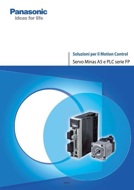 Schema Di Cablaggio Plc : Servo minas a5 e plc serie fp panasonic electric works italia srl