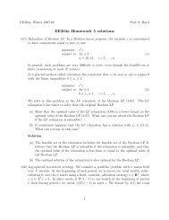 ee364a homework solutions
