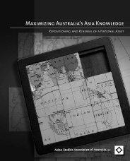 Maximizing Australia's Asia Knowledge - Asian Studies Association ...
