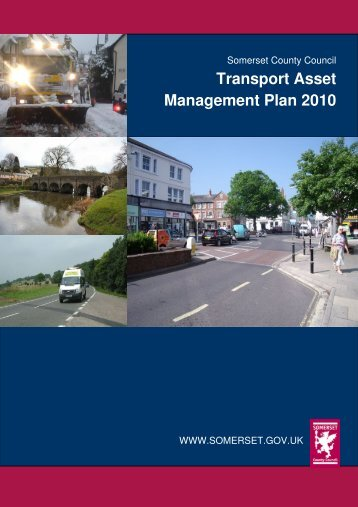 Transport Asset Management Plan (TAMP) 2010 - Somerset County ...
