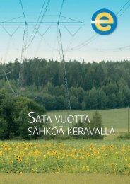 SATA VUOTTA SÄHKÖÄ KERAVALLA - Keravan Energia Oy