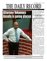 Attorney Yo h a n n e s Assefa is going places - Harris Beach, LLP