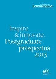 Download the PDF - University of Southampton