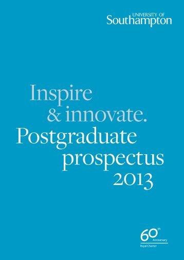 Download the PDF - University of Southampton