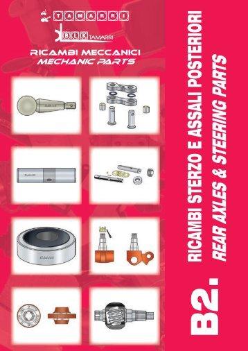 ricambi sterzo e assali posteriori rear axles & steering parts