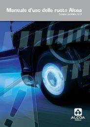 Manuale d'uso delle ruote Alcoa