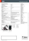 pala compatta S330 - Bobcat.eu - Page 2