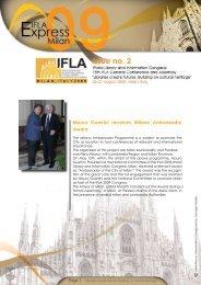 Mauro Guerrini receives Milano Ambassador Award - IFLA Annual ...