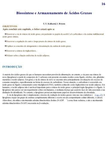 Cap 16 - Biossíntese e armazenamento de ácidos gordos.pdf - Molar