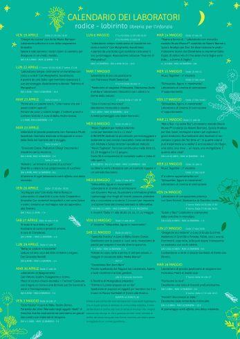 il nostro pieghevole con l'elenco completo dei laboratori aprile ...