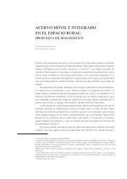 acervo móvil e integrado en el espacio rural - Todopatrimonio.com