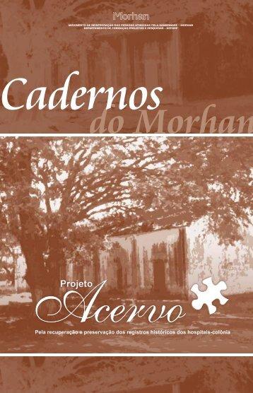 Projeto Acervo - Morhan