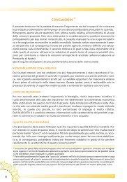 Cap. 4 - Conclusioni - Veneto Agricoltura