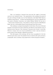 Introduction This is an anthology of America's Zen poets from the ...