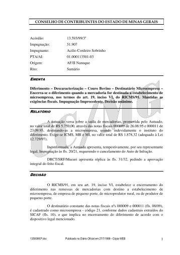 Microsoft Word - 13593993\252.doc - Secretaria de Estado de ...
