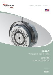 AC LINE - Kendrion