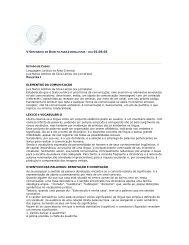 Elementos da Comunicação - TJDFT