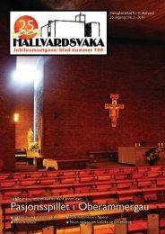 HALLVARDSVAKA Nr. 3/10 - St Hallvard menighet - Den katolske ...