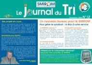 Journal du tri n°12 - smirom