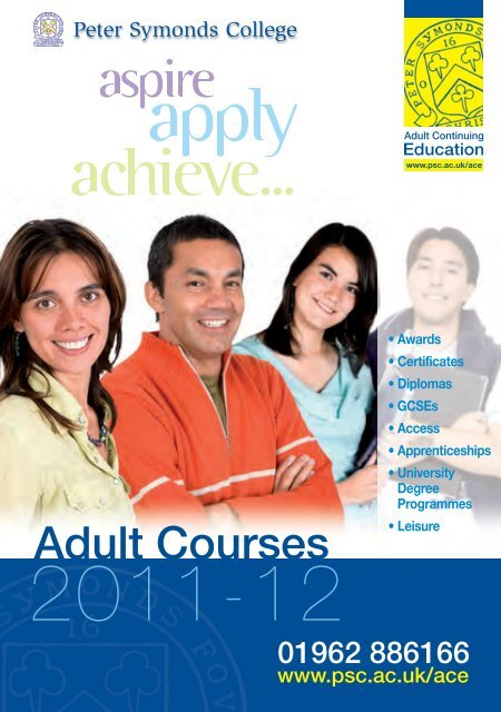 Accept. The adult continued education are