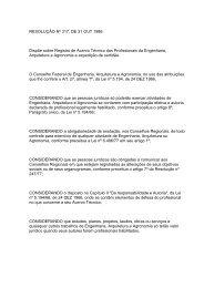 CONFEA - Acervo Técnico - APeMec