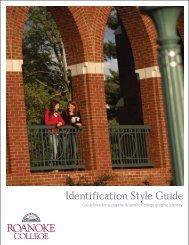 Identification Style Guide - Roanoke College