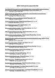 LIVROS - Atualização do acervo em abril/2013 A aplicação do CPC ...