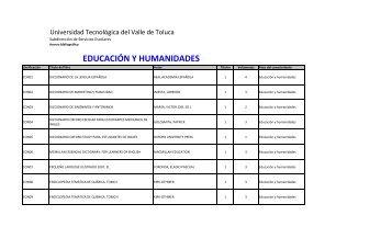 acervo bibliográfico - Universidad Tecnológica del Valle de Toluca