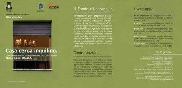 Casa cerca inquilino. - Comune di Reggio Emilia