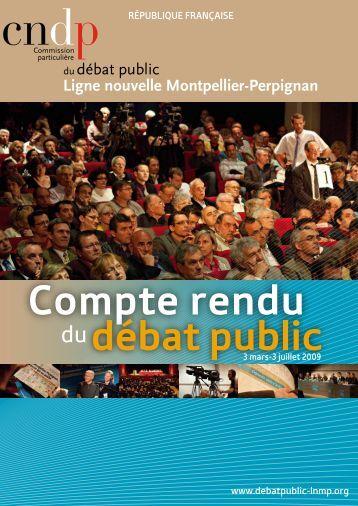 Compte rendu - Commission nationale du débat public