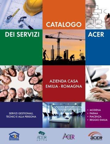 ACER CATALOGO DEI SERVIZI - ACER Piacenza