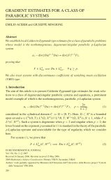 GRADIENT ESTIMATES FOR A CLASS OF PARABOLIC SYSTEMS