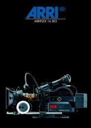 ARRIFLEX 16SR 3 Brochure, As of Aug 92, English, 72 ... - Panavision