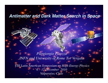 Antimatter and Dark Matter Search in Space